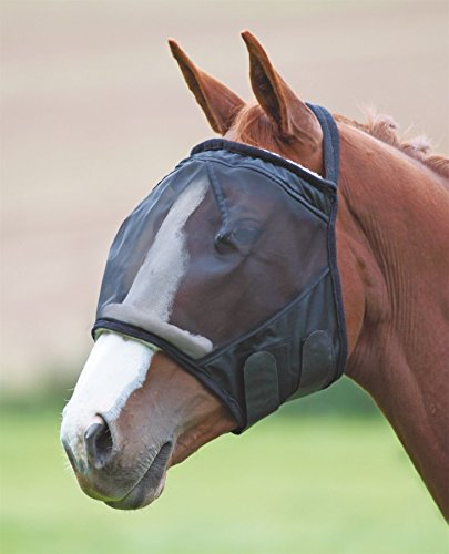 41Vn5jyEE0L UK BEST BUY #1Shires Equestrian   Fine Mesh Earless Fly Mask   Assupp   Size: Pony price Reviews uk