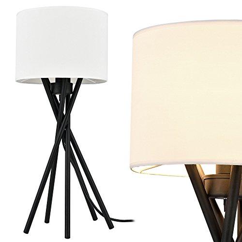 [lux.pro] Elegante Tischlampe – Mikado – (1 x E14 Sockel)(57 cm x Ø 25 cm) Schreibtischlampe oder Nachttischlampe