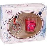 Oilily Damendüfte Blue Sparkle Geschenkset Eau de Toilette Spray 50 ml + Duftkerze 1 Stk.