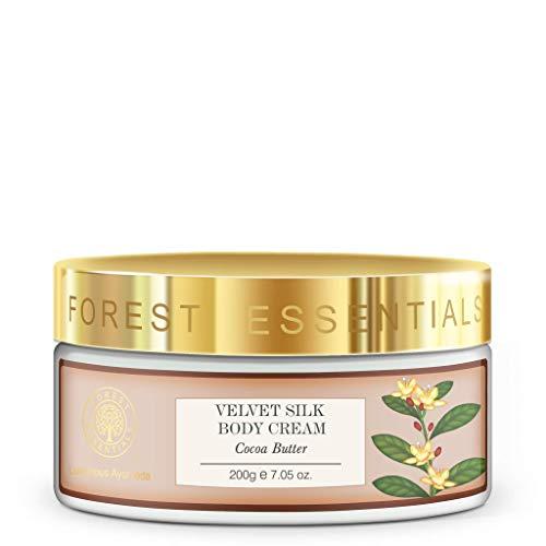 Forest Essentials Velvet Silk Body Cream Cocoa Butter - 200g by Forest Essentials -
