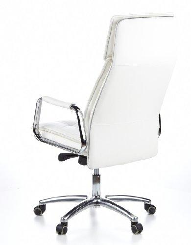 HJH OFFICE 600922 Bürostuhl / Chefsessel VILLA 20 Nappaleder elfenbein - 10