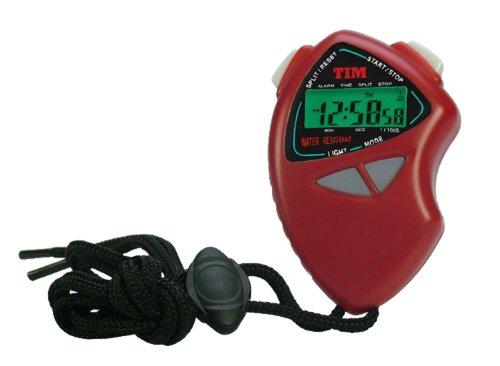 Acctim Tim901r Cronometro Sportivo retroilluminato Colore Rosso
