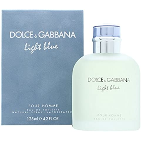 Dolce&Gabbana Light Blue Eau de Toilette, Uomo, 125 ml