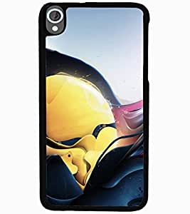 ColourCraft Abstract Image Design Back Case Cover for HTC DESIRE 820