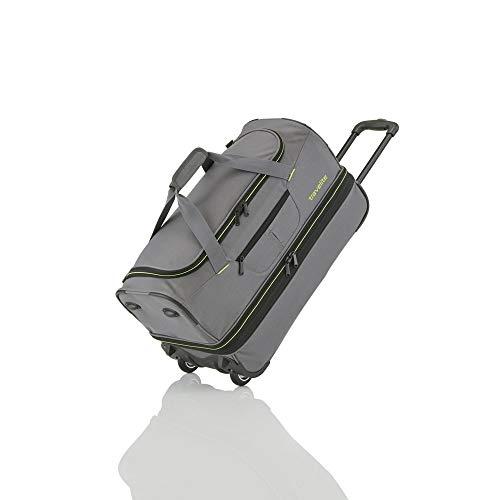 travelite Basics Reisetasche auf Rollen 55cm grau