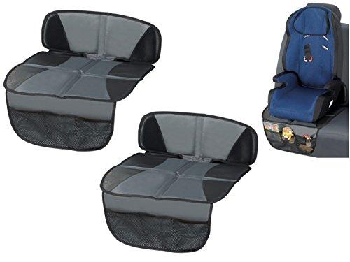 2 x Kindersitzunterlage Sitzschoner Rücksitzschoner Kindersitz Doppelpack