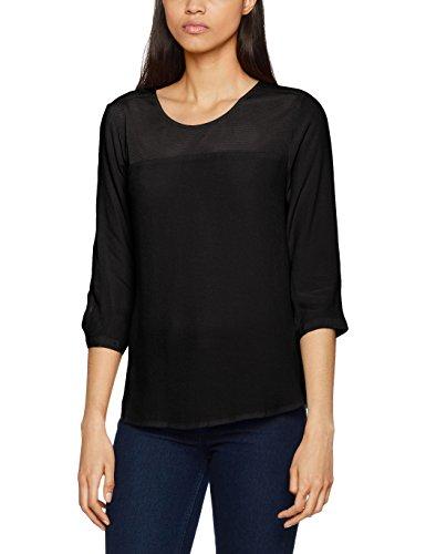 ONLY Damen Bluse Schwarz (Black Black)