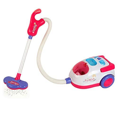 htfrgeds Kinder Staubsauger 2in1 mit Handstaubsauger Familienküche Baby Kid Entwicklungs Lernspielzeug Simulation HaushaltsgeräTe KüChe Spielzeug