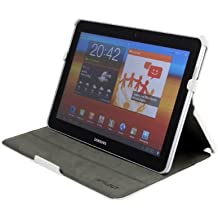 StilGut UltraSlim Case, funda con funcion de soporte para el original Samsung Galaxy Tab 10.1 & 10.1N, negro