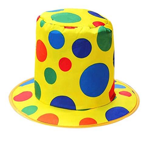 Matissa Clown Kostüme für Männer und Frauen Erwachsene Clown Zubehör und Sets (Clown-Hut)