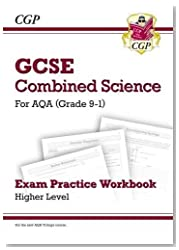 New Grade 9-1 GCSE Combined Science: AQA Exam Practice Workbook - Higher (CGP GCSE Combined Science 9-1 Revision)