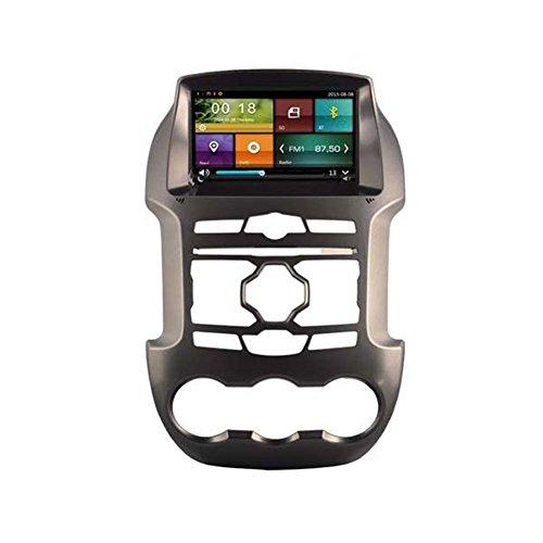 autosion Auto DVD Player GPS Radio Stereo Haupteinheit für Ford Ranger 2011201220132014Auto Navigation Audio Kapazitive Touchscreen Bluetooth A2DP USB SD Lenkrad Control