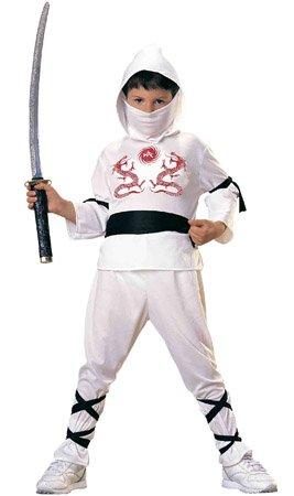Zane Ninja Kostüm - Rubie's Ninja-Kostüm Ninja weiß L keine