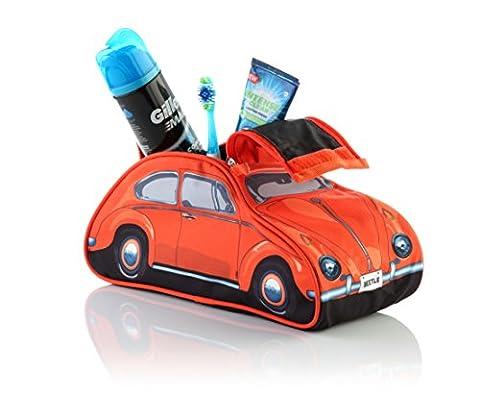 Volkswagen 60s Beetle Orange Wash Bag
