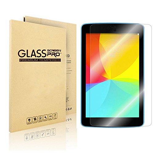 nextany LG G Pad 7.0gehärtetem Glas Bildschirmschutzfolie-PREMIUM gehärtetes Glas Bildschirmschutzfolie (2.5D 9H Härte, Superslim 0,3mm) für LG G Pad 7.0-Die beste GPAD 7.0Bildschirmschutzfolie, gegen Kratzern & Stürzen-Ultra HD Klar mit Maximale Touchscreen Genauigkeit-lebenslange Garantie