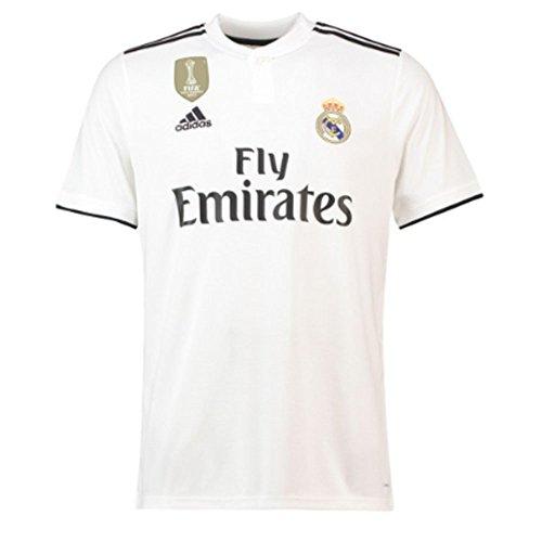 Camiseta 1ª equipación para hombre, talla L. Adidas Real Madrid 2018/2019