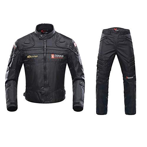 ANTLEP Traje de Moto 2 Piezas Chaqueta + Pantalón de Motorista Prueba...