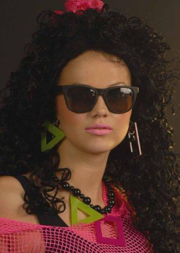 Struts Fancy Dress Rocky Horror-Style Black Sonnenbrille
