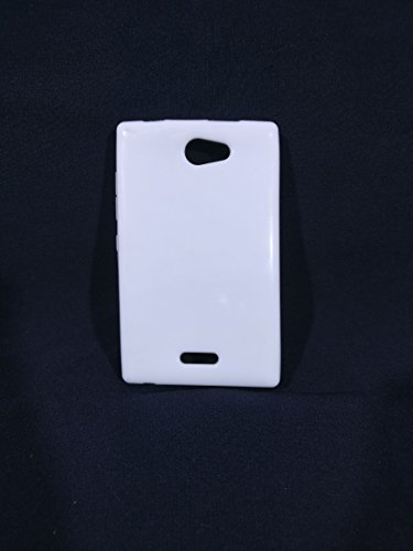 iCandy™ Colourful Thin Soft TPU Back Cover For Nokia Asha 502 - White  available at amazon for Rs.119