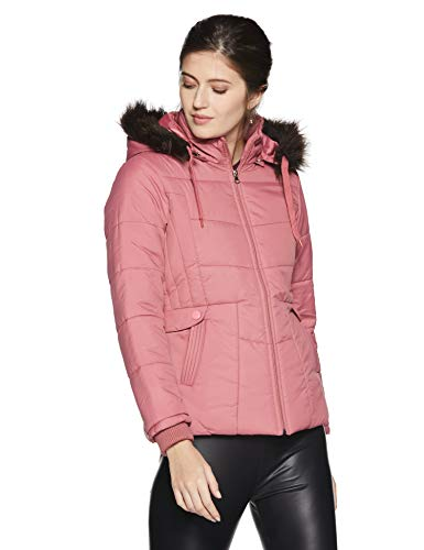 Qube By Fort Collins Women's Parka Hoodie (39238 SMU_Pink_L)