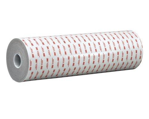 2. TapeCase 75-5-4926 VHB 4926 grigio, Double face, in materiale acrilico, supporto in schiuma, 15 mil 0,38 mm di spessore, 2,75in x 5yd-Rotolo di carta