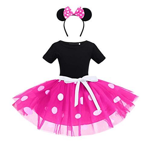 OBEEII Polka Dots Disfraz Carnaval Minnie