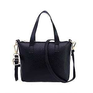 Women Handbag, Rcool Fashion Solid Color Tote