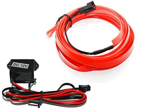 EL Barre Lumineuse - Éclairage intérieur Rouge - Pas de LED de 1 m (6,99 €/m) - 5 m (3,59 €/m).