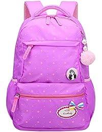 3d69258a3c GYH Sacchetto di scuola per bambini - Principessa scuola primaria zaino  casual Donna 6-12