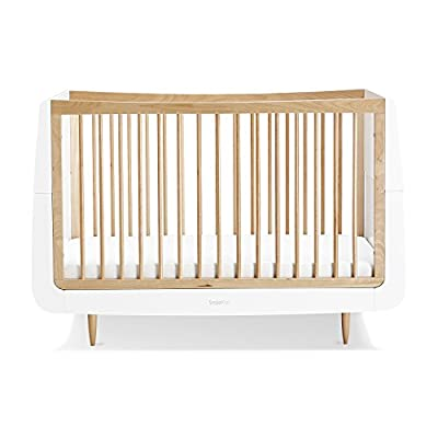 Snuzkot Skandi Cot Bed - Natural  Gima
