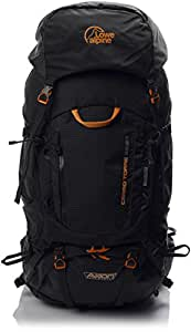 Lowe Alpine Men's Axiom 7 Cerro Torre 65:85 Hiking Backpack - Black, One Size