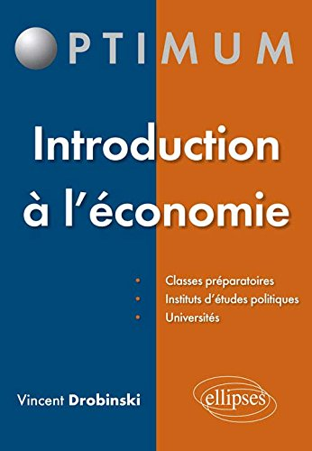 Introduction  l'conomie