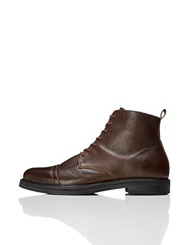 FIND Classic Leather, Mens Boots, Brown (Brown), 10 (44 EU)