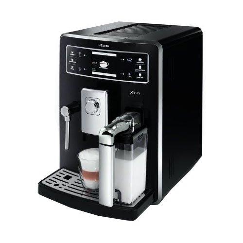 Saeco HD8943/11 Kaffee-Vollautomat Xelsis (1.6 l, 15 bar, 1500 Watt, Milchbehälter) schwarz