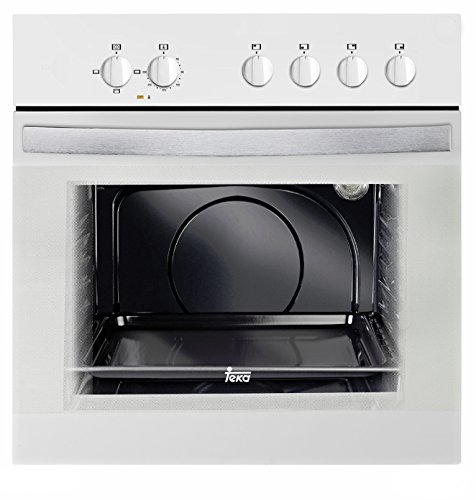 Teka HE 490 ME - Horno (59 L, 2550 W, Eléctrico, 2593 W, 220-240 V, 50 Hz) Color blanco