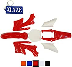 XLYZE Plastic Fender Kits Rojo para 2 tiempos Chino 47cc 49cc Apollo Orion Mini Pit Dirt
