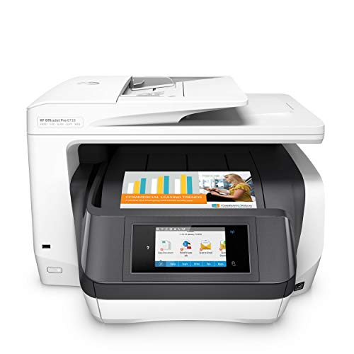HP OfficeJet Pro 8730 Multifunktionsdrucker (Instant Ink, Drucker, Scanner, Kopierer, Fax, PCL 6, WLAN, LAN, NFC, Duplex, Airprint) (Drucker All In One Wireless Hp)