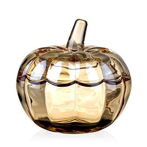 JANSUDY Snackschale Wohnzimmer Kristallglas Candy Box Kann Aufbewahrt Werden Candy/Erdnuss/TrockenfrüChte - Schale Crystal Zucker