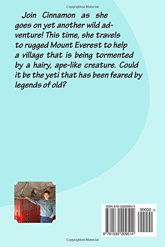 Cinnamon and the Yeti of Mount Everest: Volume 3 (Cinnamon's Adventures)