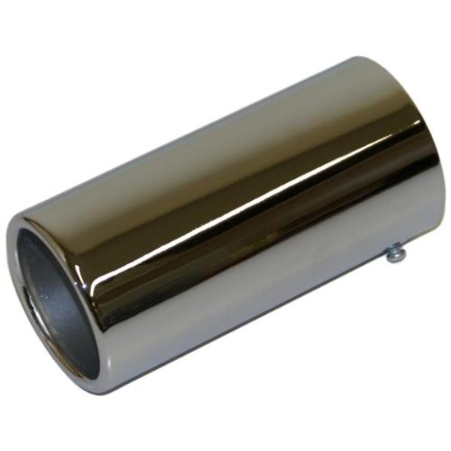QUALITY EXHAUST SHINY TAIL PIPE CHROME TRIM TIP END for sale  Delivered anywhere in UK
