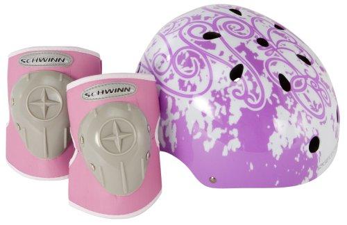 Schwinn Kinder Hartschalen Fahrrad Helm und Schutz-Pad Value Bewertung und Vergleich