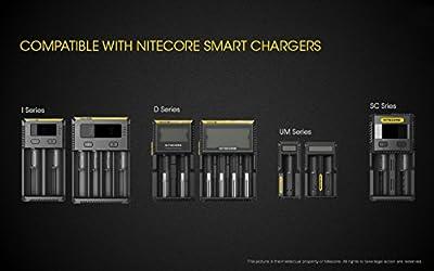 NiteCore nl1832Zubehör-Taschenlampe Unisex Erwachsene, schwarz/gelb von NITEV|#Nitecore - Outdoor Shop
