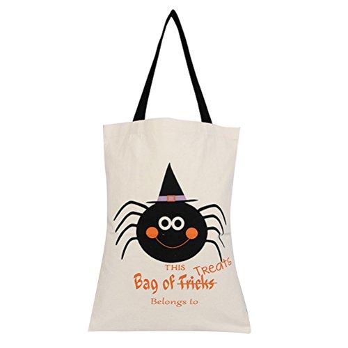 ne Trick oder Leckerei Tasche Kinder Süßigkeiten Geschenk Tasche für Halloween Party Lieferanten ()