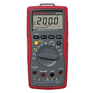 Beha-Amprobe Digitalmultimeter AM-530-EUR CAT II 1000 V, CAT III 600 V Anzeige