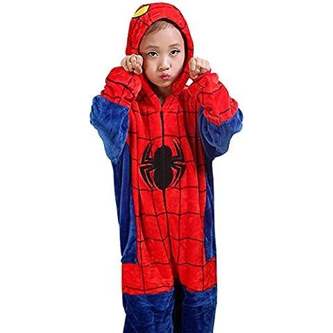 GILLBRO Spider-Man Onesies para niños disfraz