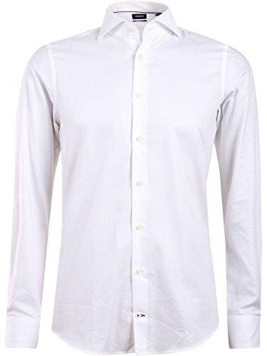 Joop! Herren Businesshemd 17 Jsh-04Panko 10001819, Weiß (White Uni 100), 42