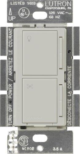 Lutron Maestro Begleiter Dual Dimmer und Fan Speed Control Switch