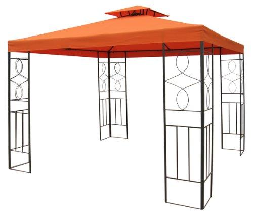 Gartenpavillon 3x3m Pavillon Romantika Pavillion terracotta
