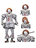 """NECA IT Ultimate Well House Pennywise 7"""" Scale Action Figure"""
