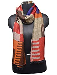 Aahara's designer woven stoles/scarves for women and girls.